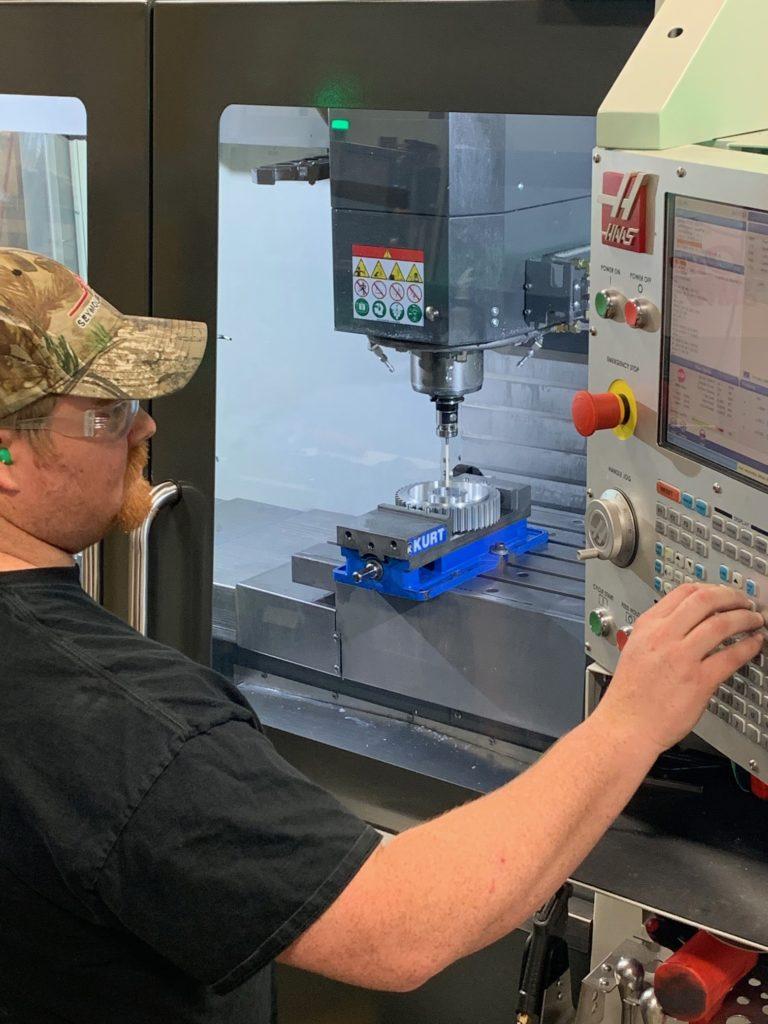 CNC machining capabilities